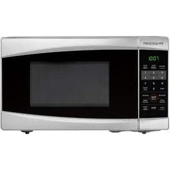 Frigidaire 0.7 Cu. Ft. Counter Top Microwave Oven, Stainless Steel