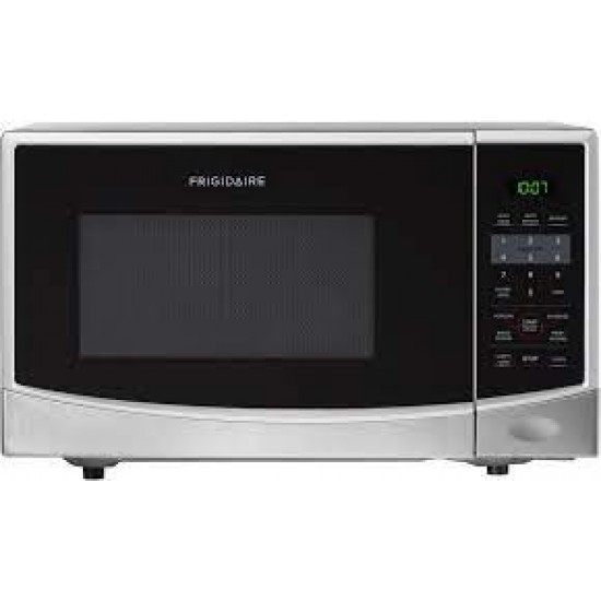 Frigidaire 0.9 Cu. Ft. Counter Top Microwave Oven, Stainless Steel