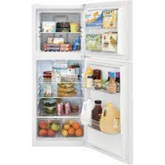 Frigidaire 10 Cu. Ft. Top Mount Refrigerator, Stainless Steel