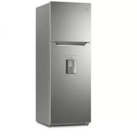 Frigidaire 12 Cu. Ft. Top Mount Refrigerator with Water Dispenser, Stainless Steel