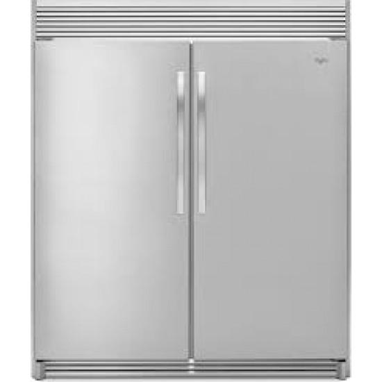 Whirlpool 18 CU.FT S/Steel All Refrigerator